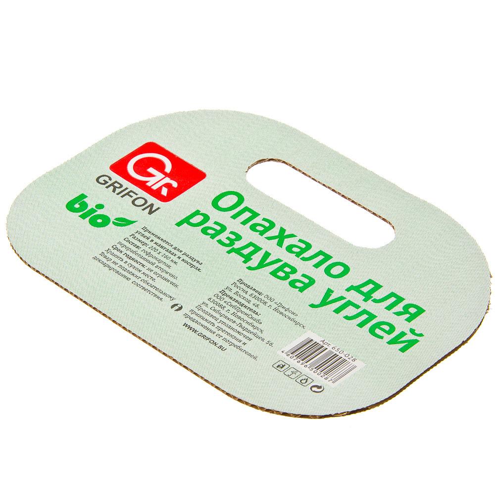 GRIFON Опахало для костра Light, картон, 22x16см, 650-028