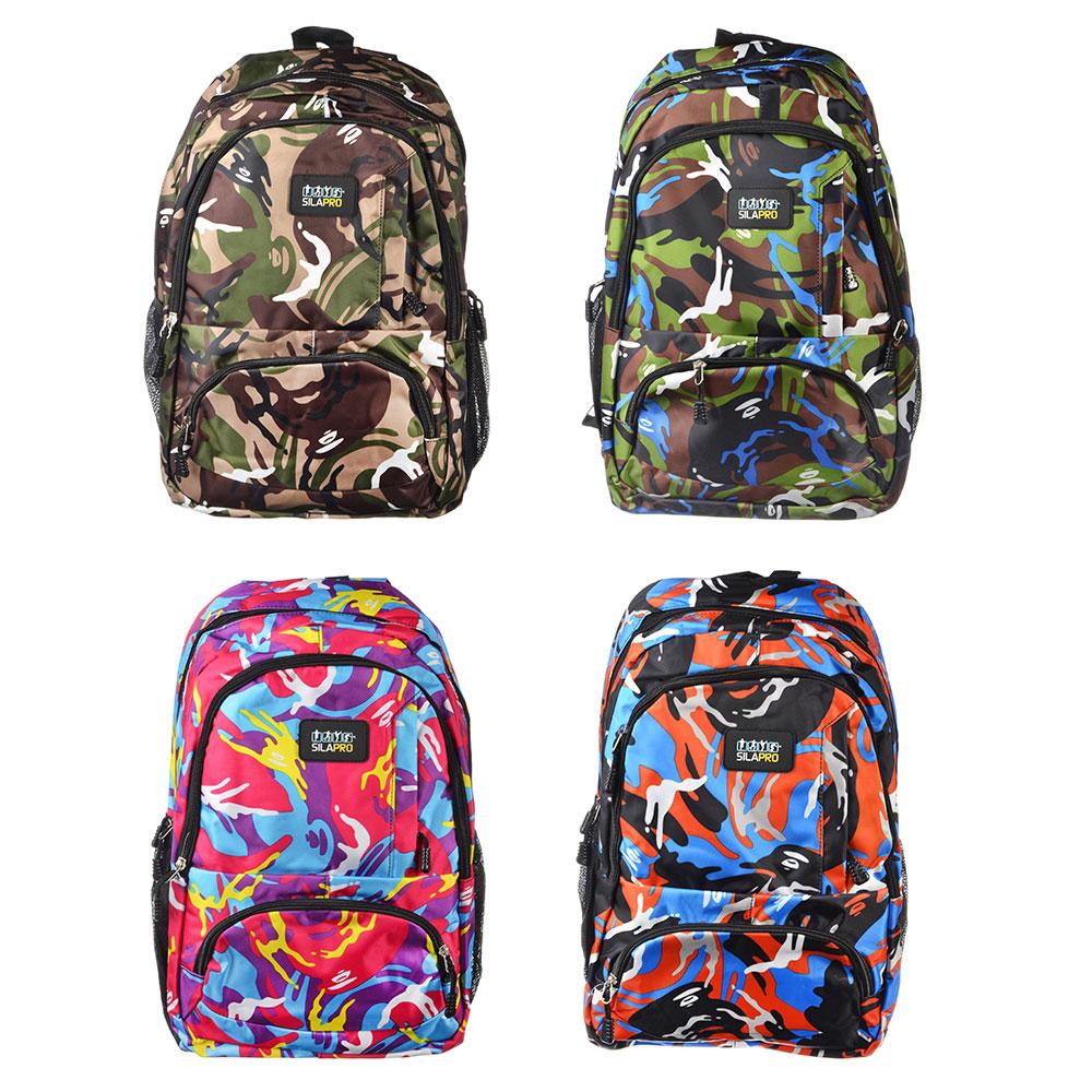SILAPRO Рюкзак спортивный, 48x32x13см, 400D ПВХ, полиэстер, 4 цвета