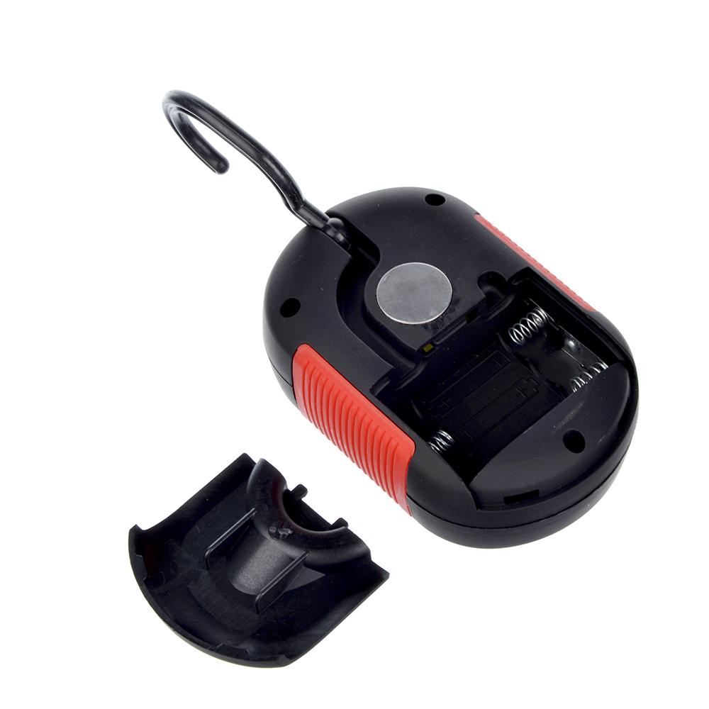 ЧИНГИСХАН Фонарь подвесной 24+3 LED, 3хААА, пластик, 9,2х6,5 см