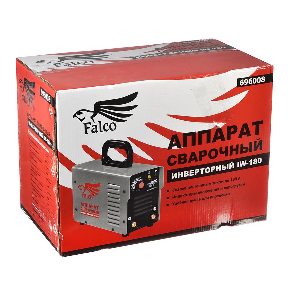 FALCO Инвертор сварочный IW-180 220В, 10-180А, электроды 1,6-4,0 мм,