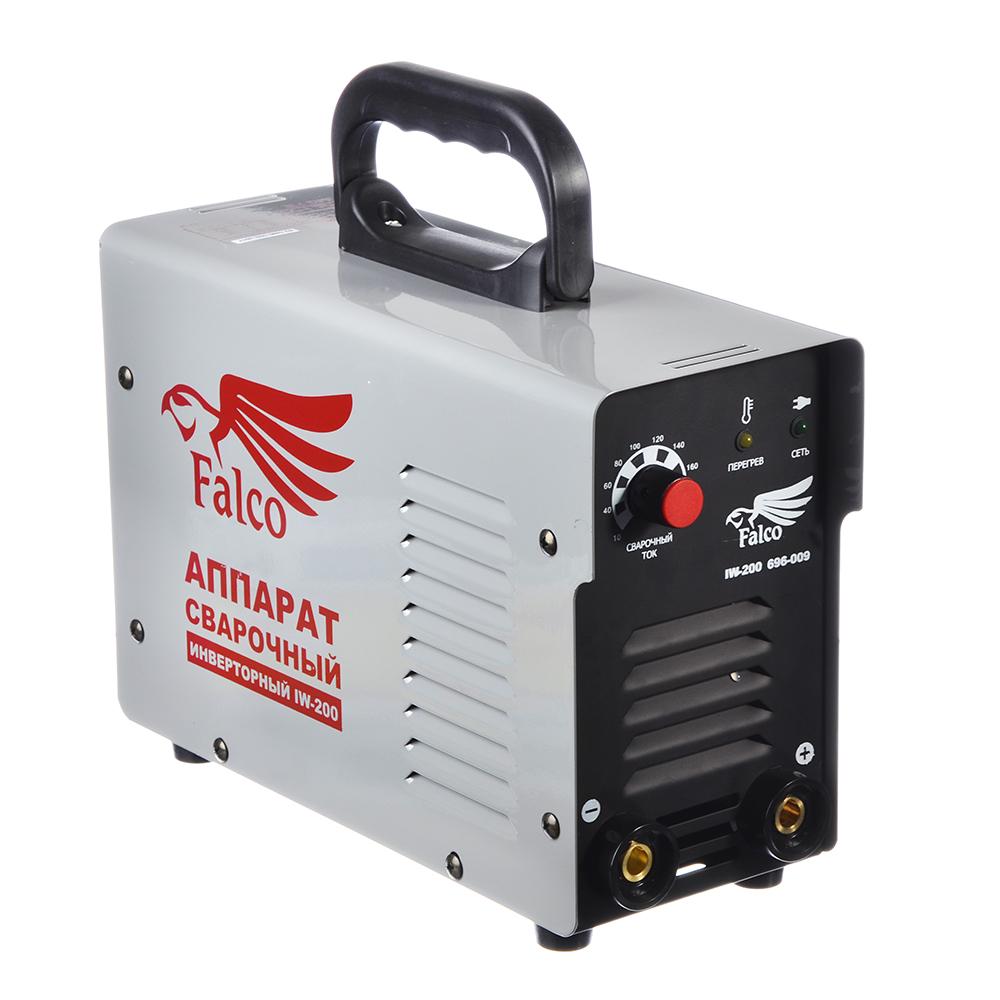 FALCO Инвертор сварочный IW-200 220В, 10-200А, электроды 1,6-4,0 мм,