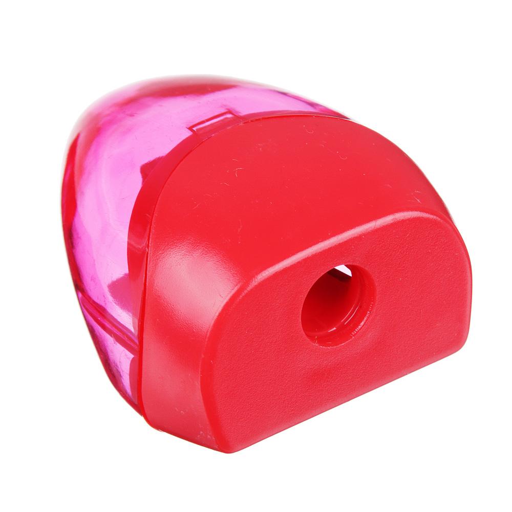 Точилка для карандашей с контейнером 4,3x3,3см, 4 цвета