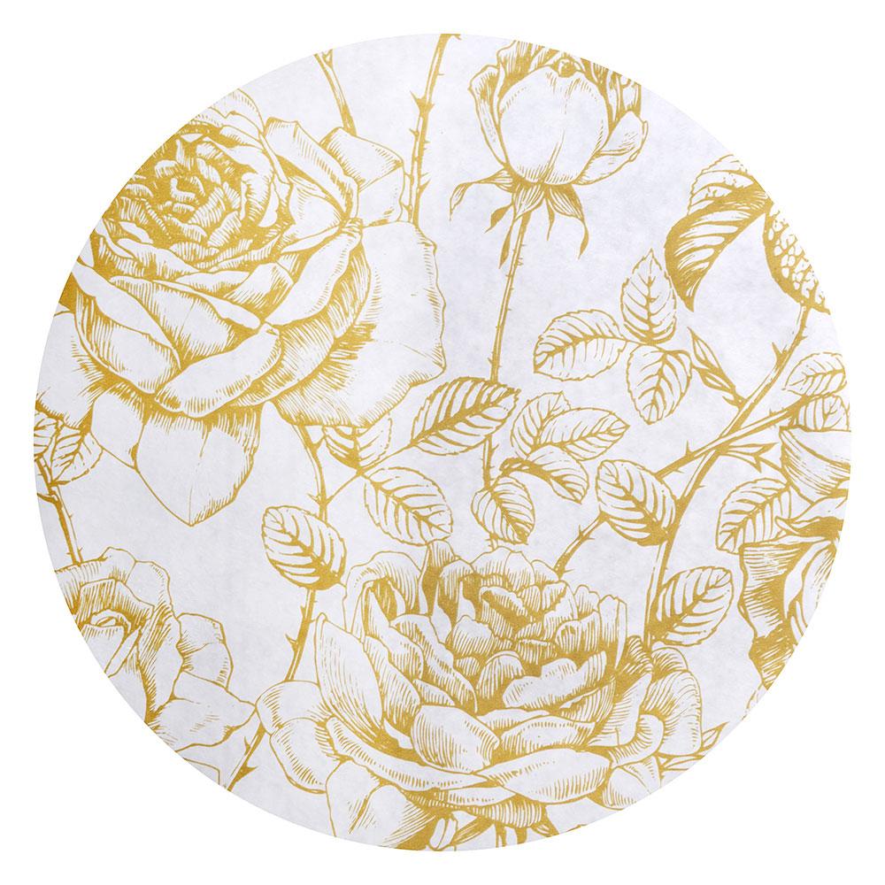 Скатерть на стол виниловая, клеенка с каймой, 110x140см, VETTA