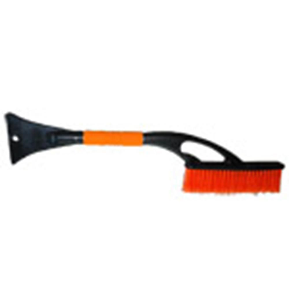 Щетка для уборки снега со скребком и мягкой ручкой 60см, Автостоп, AB-2207