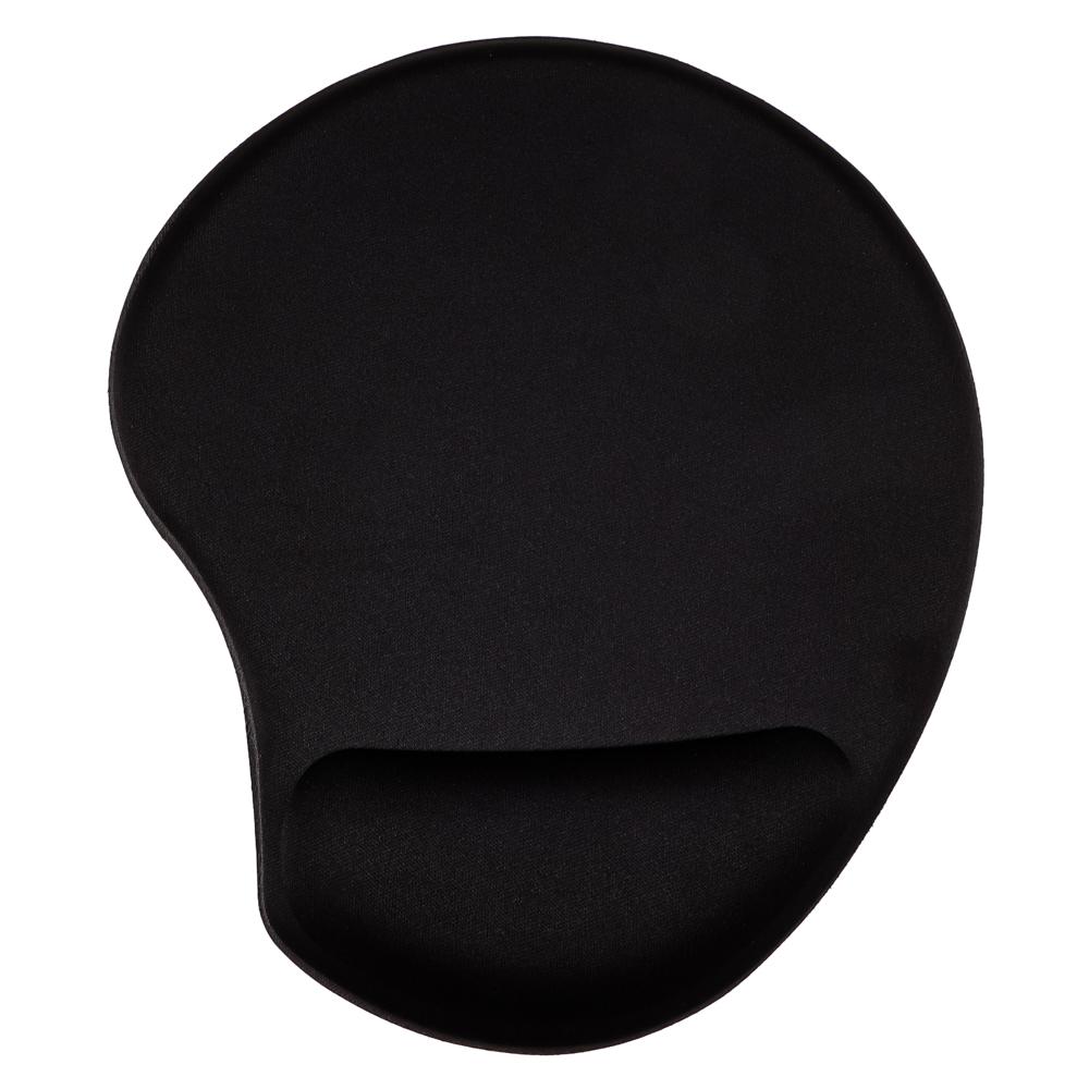 Коврик для мышки FORZA с подушечкой для запястья, 23х19см, резина, полиэстер