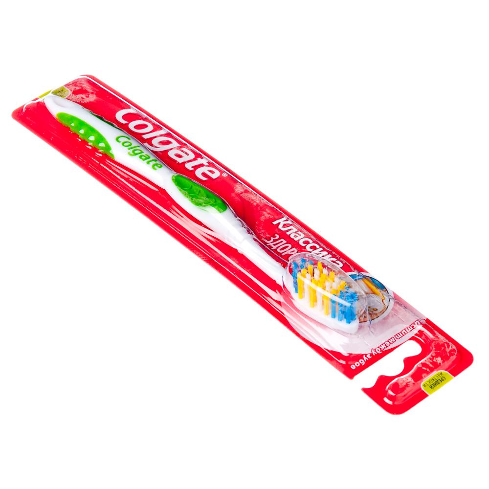 Зубная щетка Колгейт Классика Здоровья, средняя, 50306/1050350