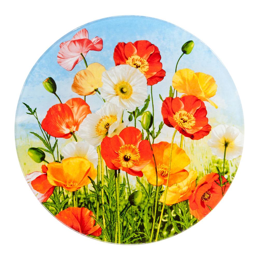 VETTA Цветущий луг Тарелка подстановочная стекло 229мм