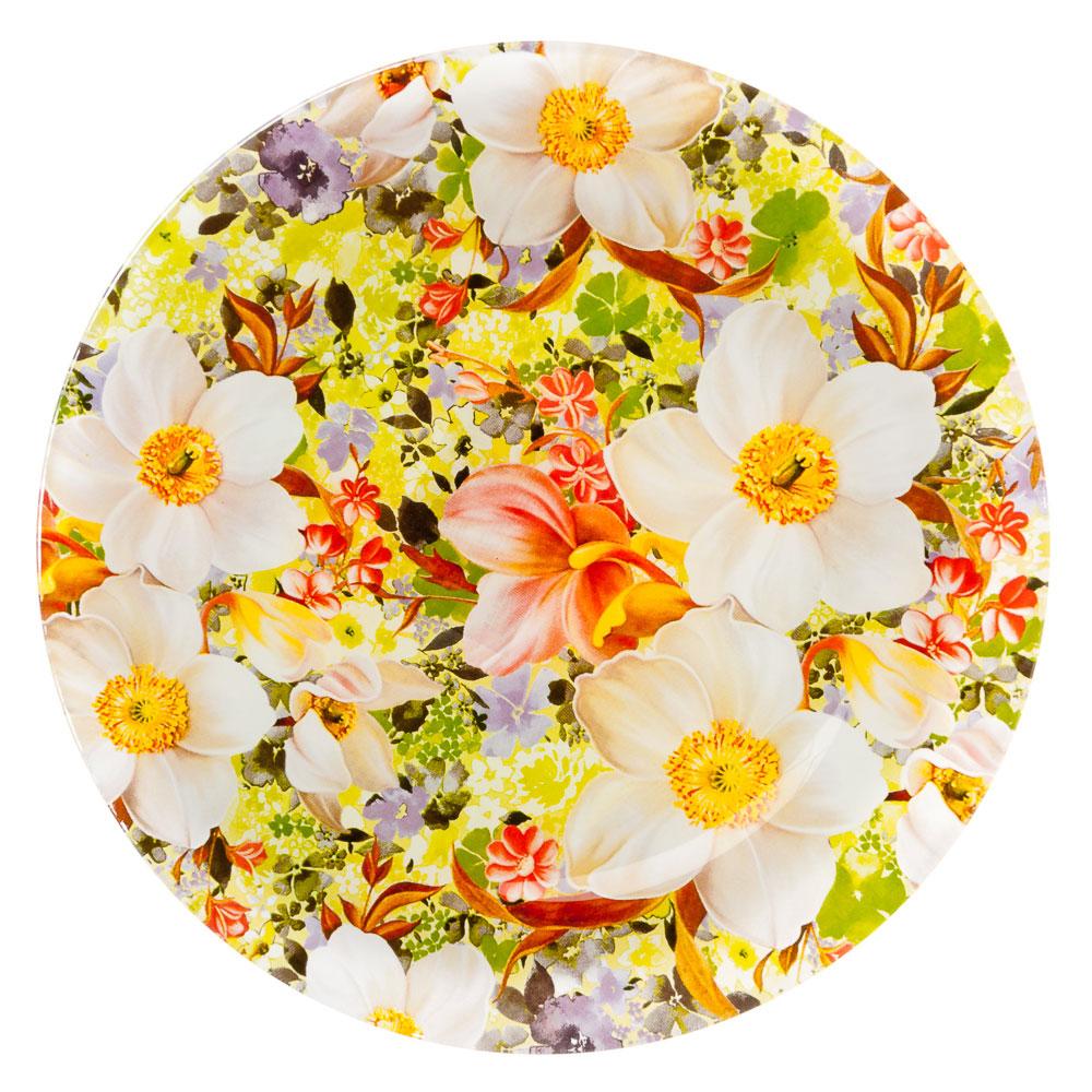 VETTA Весенний букет Тарелка подстановочная стекло 229мм, S3010-R051
