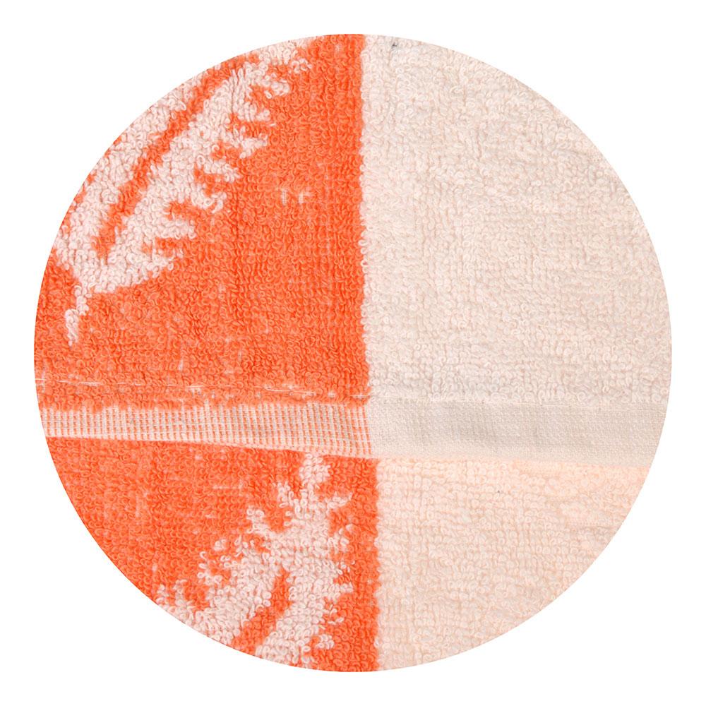 Полотенце для рук махровое, хлопок, 33x75см, белое