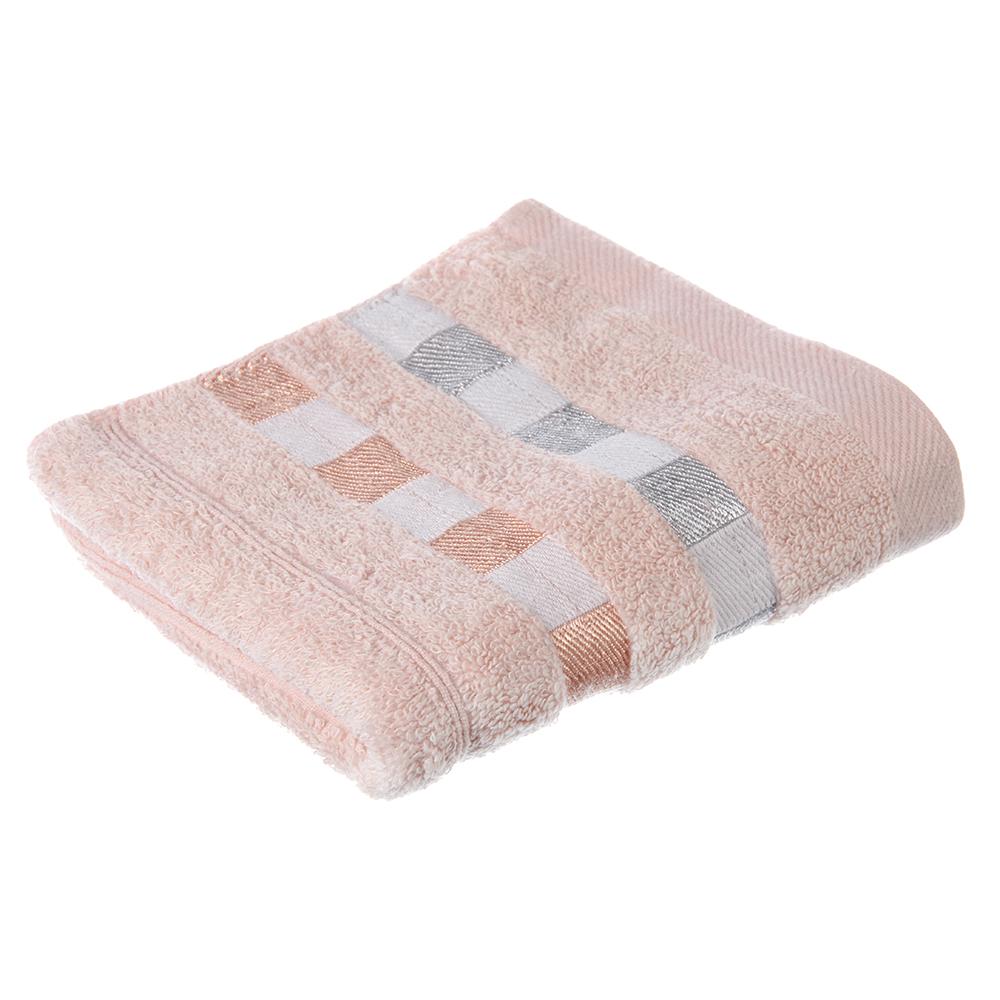 Полотенце для рук махровое, хлопок, 3 цвета, 33x74см