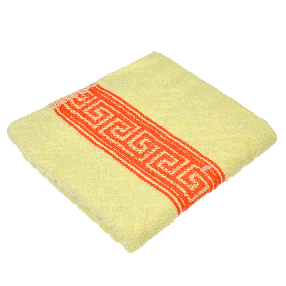"""Полотенце для рук махровое, хлопок, 30x70см, 3 цвета, """"Афины"""""""