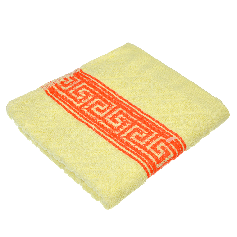 Полотенце махровое, 100% хлопок, 30x70см, 90гр., 3 цвета