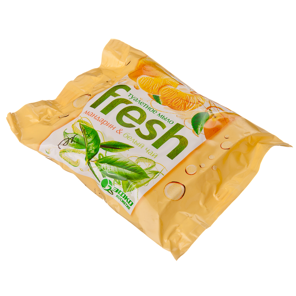 Мыло твердое Fresh Мандарин и белый чай/Ароматное Лаванда, п/п 50г, 80342
