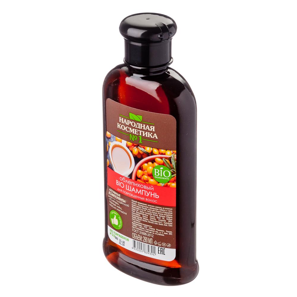 Шампунь для волос Облепиховый BIO для поврежденных волос 290 мл.