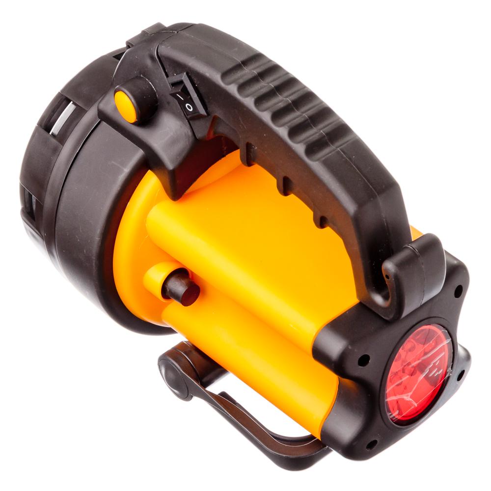 ЕРМАК Фонарь аккумуляторный, 5Вт, 8LED, заряд от прикур 12В + 220В, до 5 часов автоном.работы