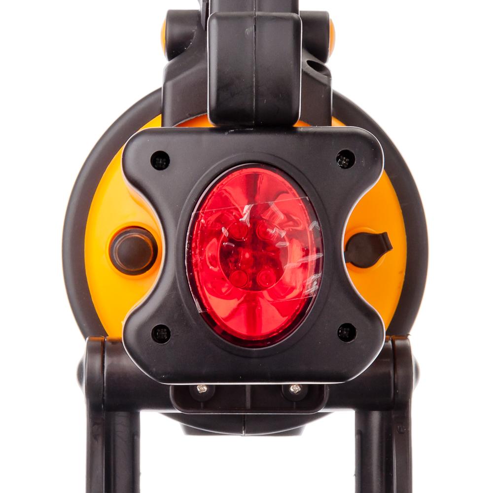 ЕРМАК Фонарь аккумуляторный, 5Вт, 19LED, заряд от прикур 12В + 220В + сигнальное мерцание