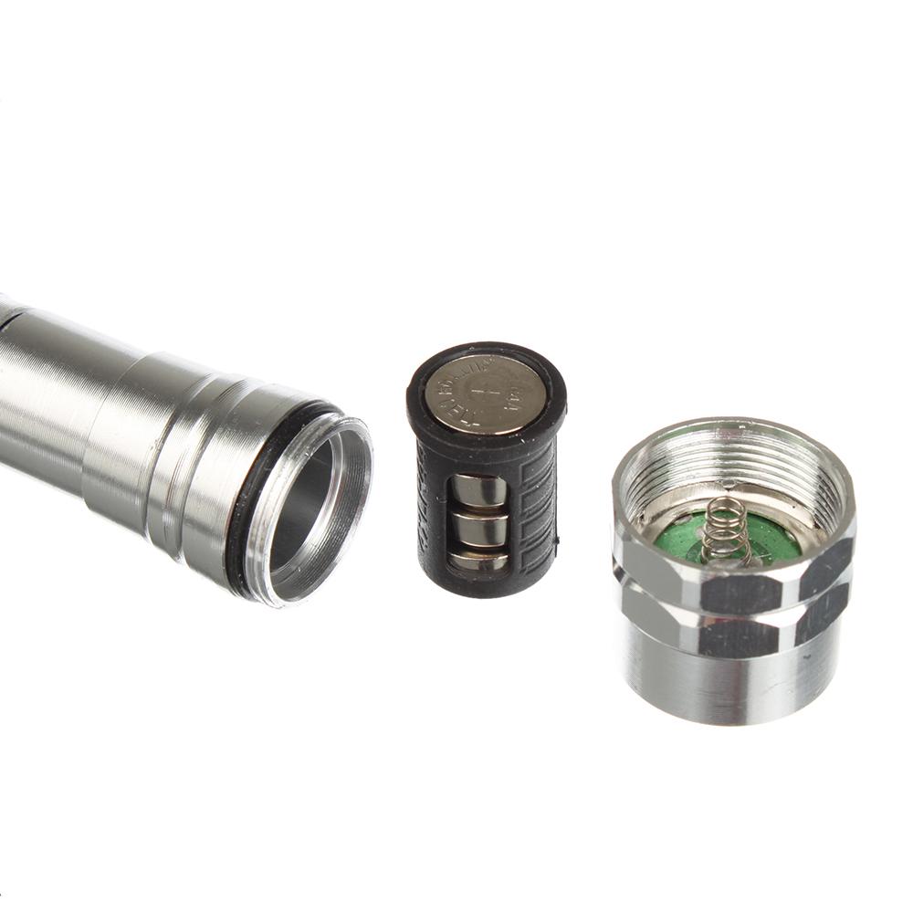 ЕРМАК Фонарик,3LEDтелескопический, c магнитом, питание 3LR44 (в комплект не входят), 17-56,5см