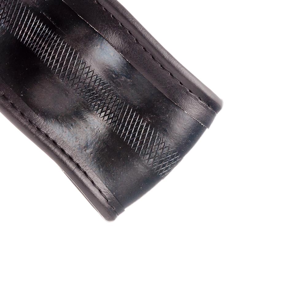 NEW GALAXY Оплетка руля, экокожа, тиснение вставки, черный, разм. (М)