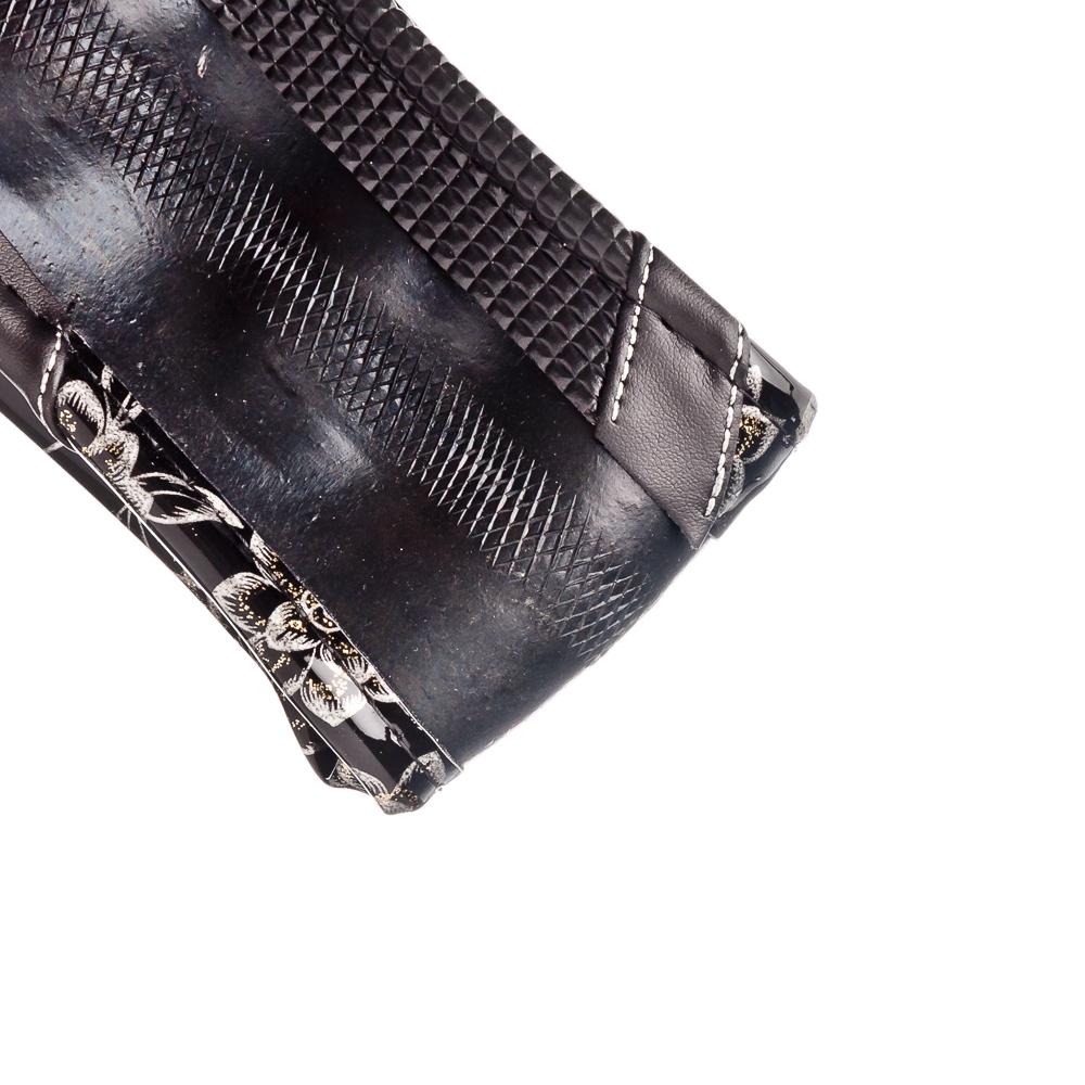 NEW GALAXY Оплетка руля с цветами, ламинированное покрытие + вставки, черный/серебристый, разм. (М)
