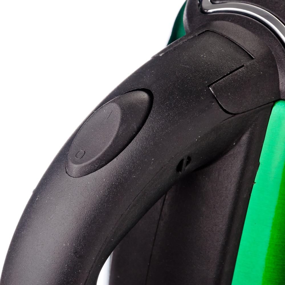 LEBEN Чайник электрический 1,8л, 1500Вт, нерж сталь, зелёный