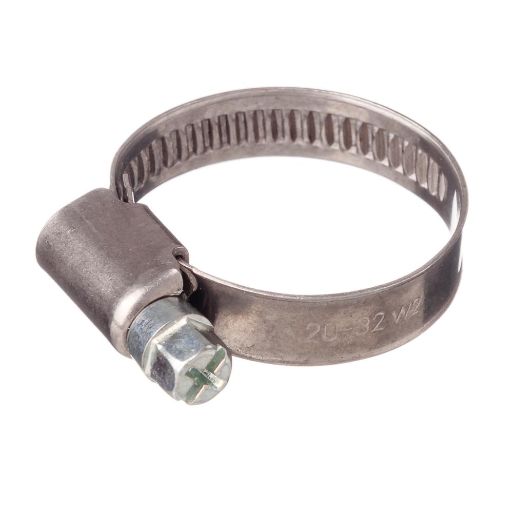 ЭКОФИКС Хомут оцинк. сталь, 20-32мм, W1, шир. 9мм