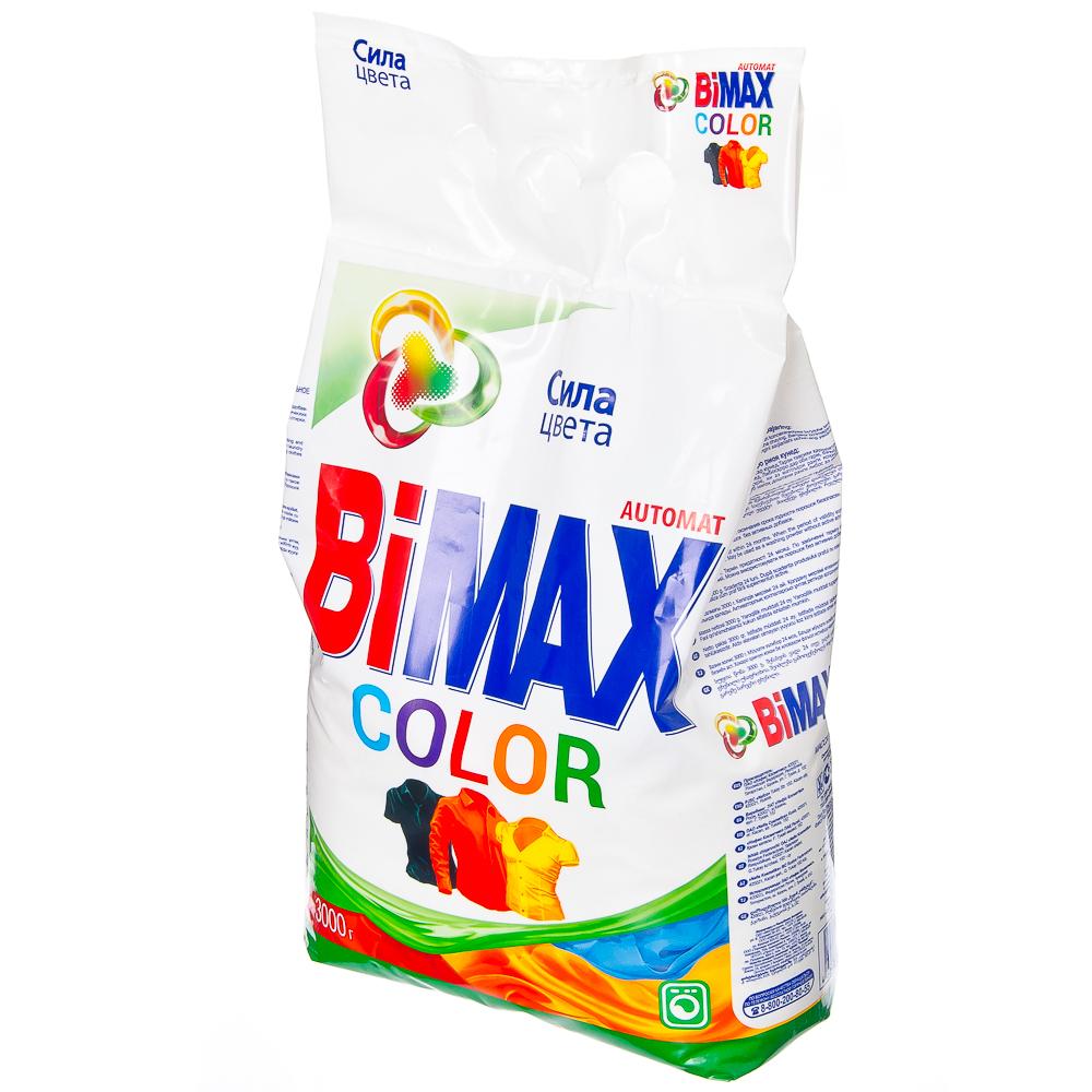 Стиральный порошок BiMax для цветного автомат п/у 3кг арт. 932-1/959-1
