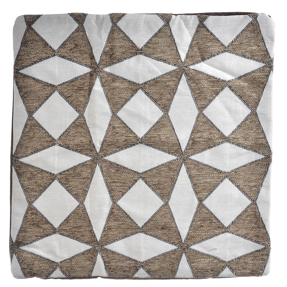 Декоративная наволочка для подушки жаккард 40x40см