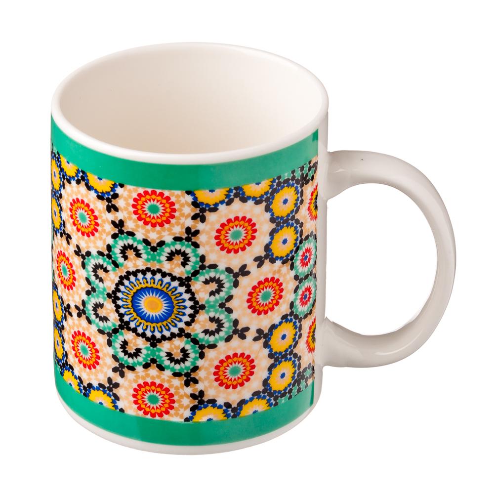 Марокко Кружка подарочная, керамика, 350мл, 2 дизайна, Дизайн GC