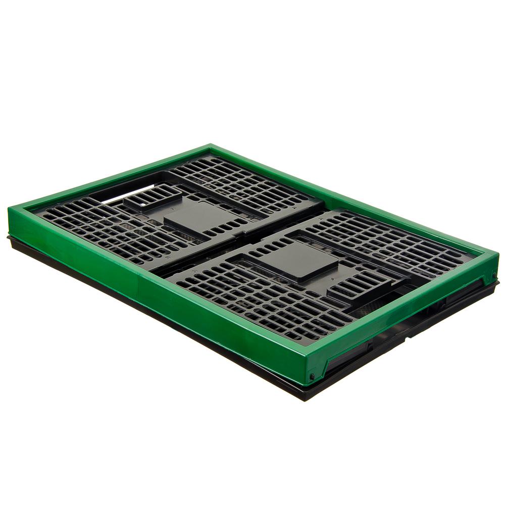 ЕРМАК Ящик складной полипропиленовый 38л, 48x35x23см