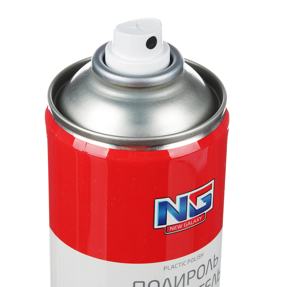 Полироль для пластика глянцевый с антистатиком, аэрозоль, 520 мл, NEW GALAXY