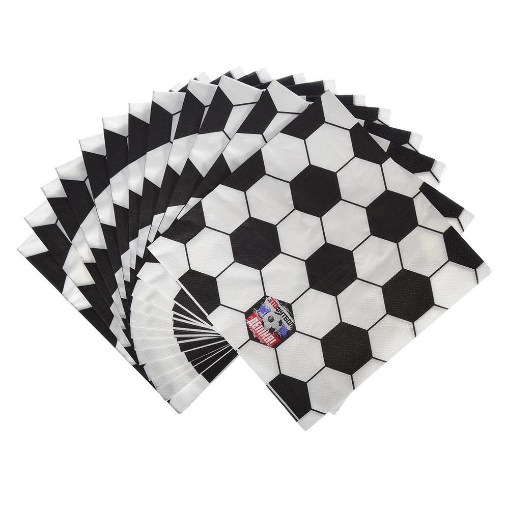 Футбол Салфетки бумажные, 12шт, 33х33см, GC Design