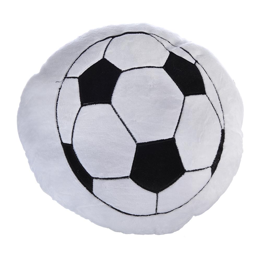 Футбол Подушка антистресс, 33см, флис, велюр, синтепон, GC Design