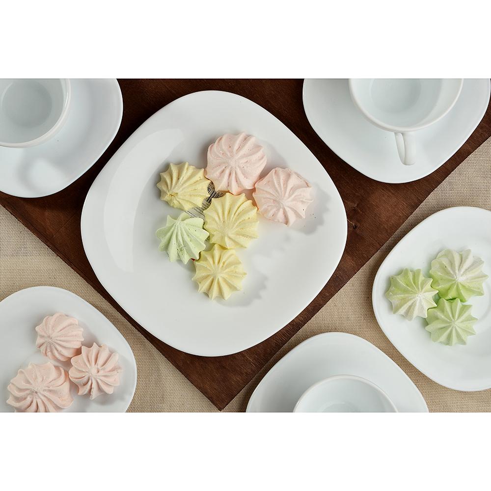 Тарелка десертная d.20 см Bormioli Parma, опаловое стекло