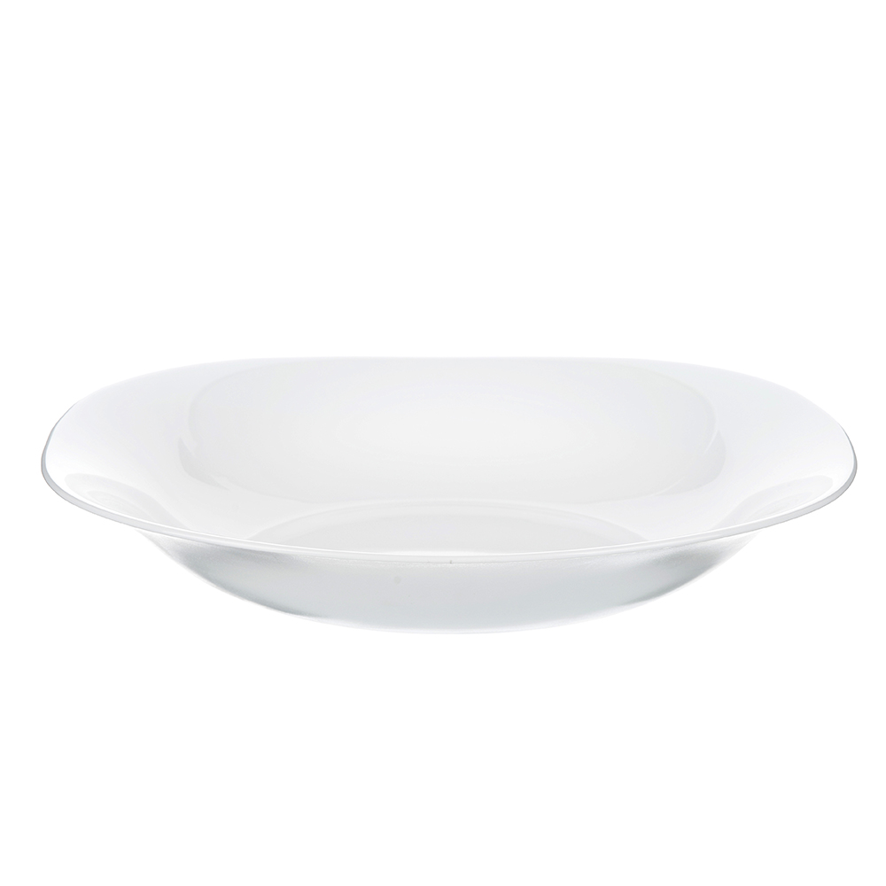 Тарелка суповая d.22,5 см Bormioli Parma, опаловое стекло