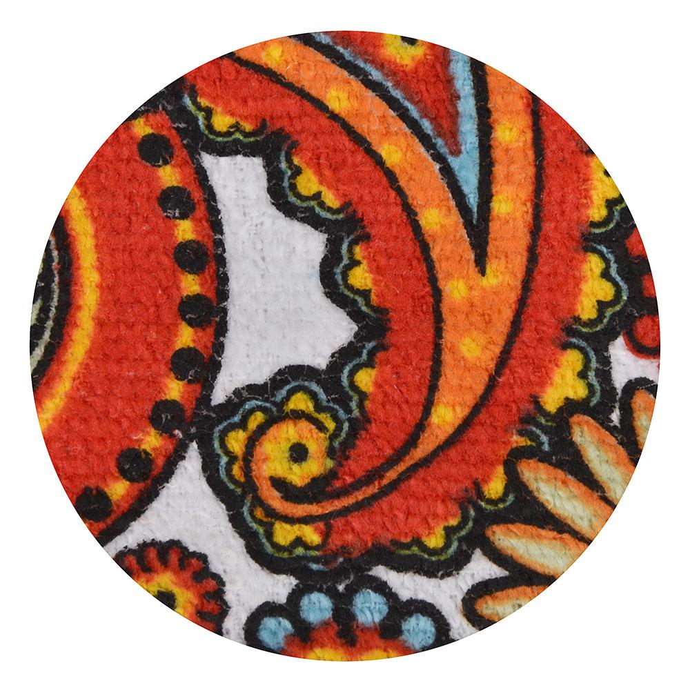 VETTA Пэйсли красный Полотенце 38х63см, хлопок + полиэстер, GC