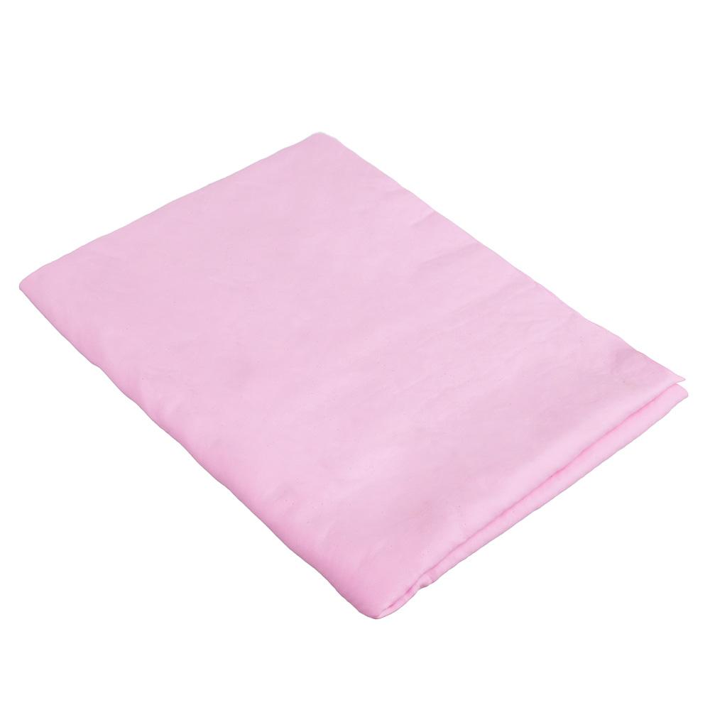 NEW GALAXY Замша протирочная PVA, в тубе, 43x32x0,22см, розовая