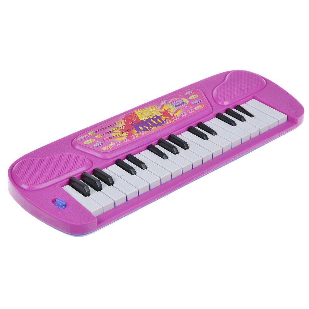 МЕШОК ПОДАРКОВ Игрушка Пианино, пластик, 32х10,5х2,5см, 2 цвета