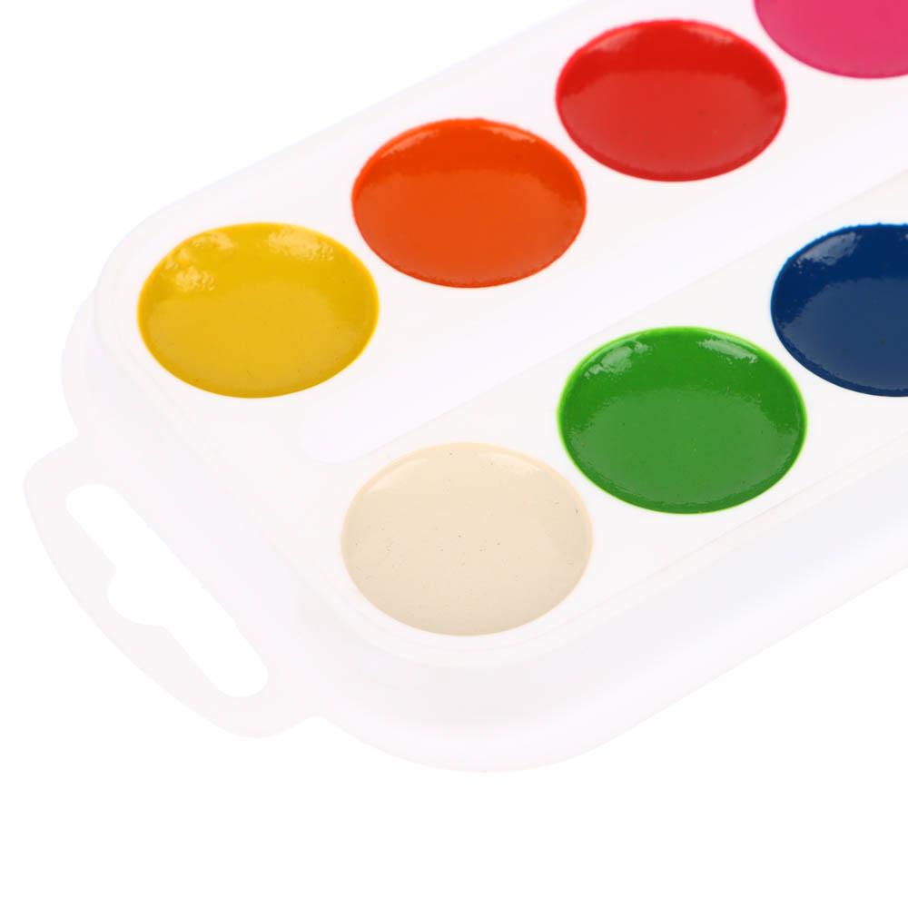 Краски акварельные медовые ClipStudio 12 цветов без кисточки