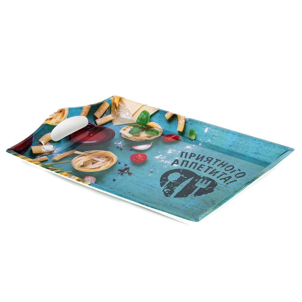 VETTA Итальянская паста Поднос пластик, 35х25см, Дизайн GC