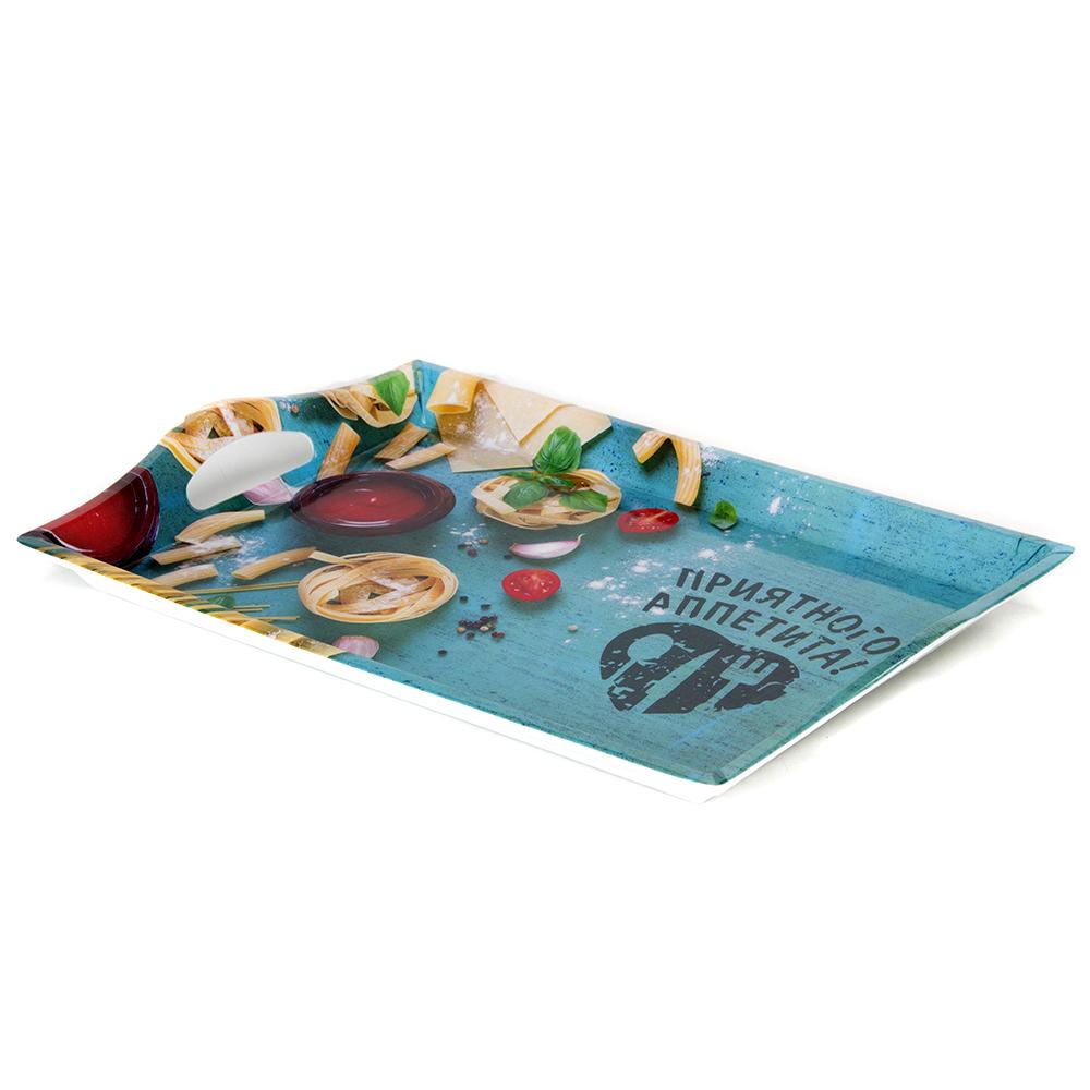 VETTA Итальянская паста Поднос пластик, 39х27см, Дизайн GC