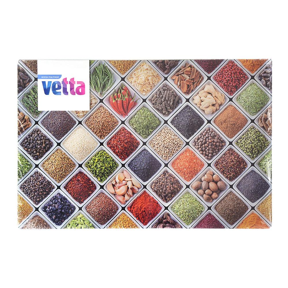 Доска разделочная стеклянная VETTA Ароматная лавка, 20х30х0,4см