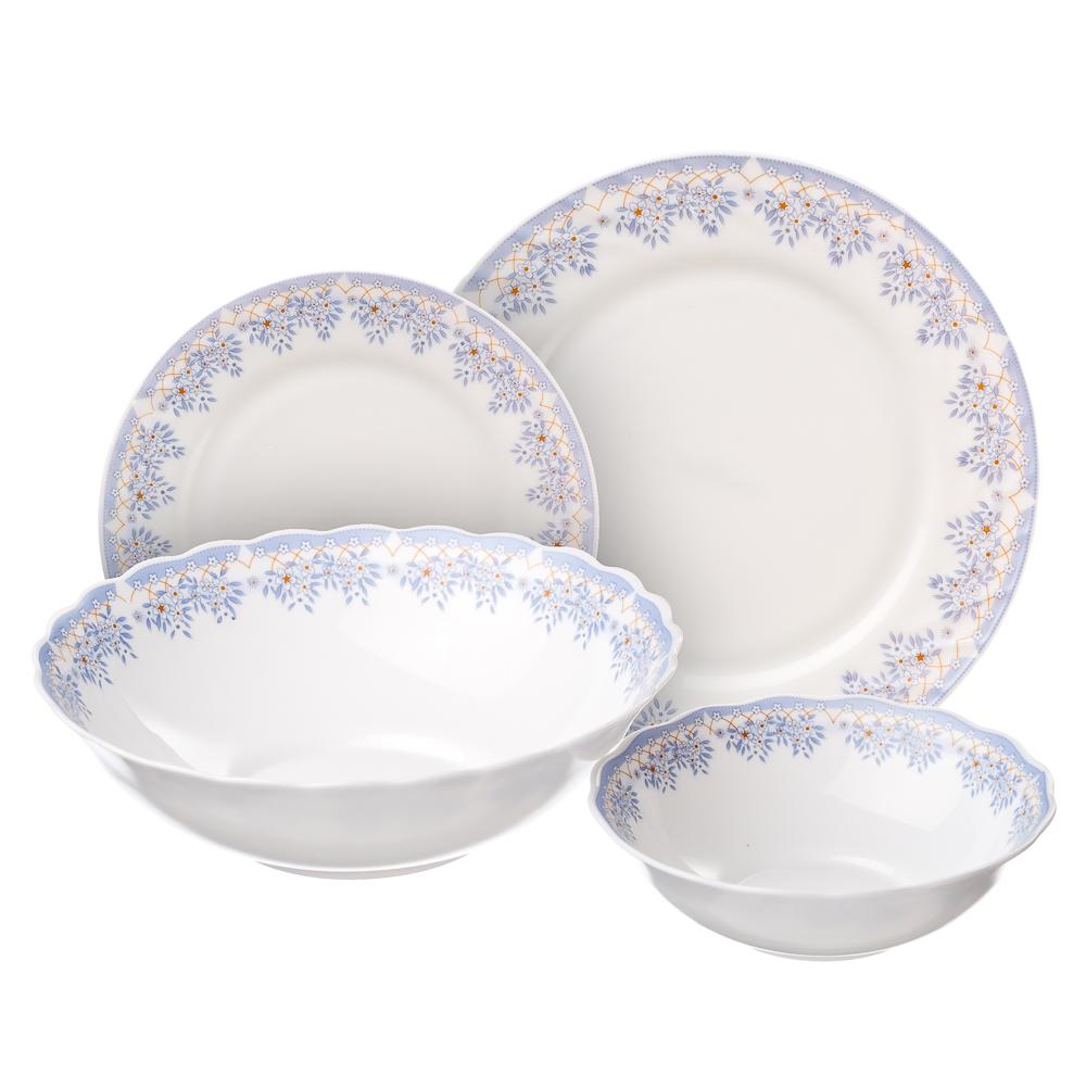 """Набор столовой посуды 19 предметов, MILLIMI """"Аполлон"""""""