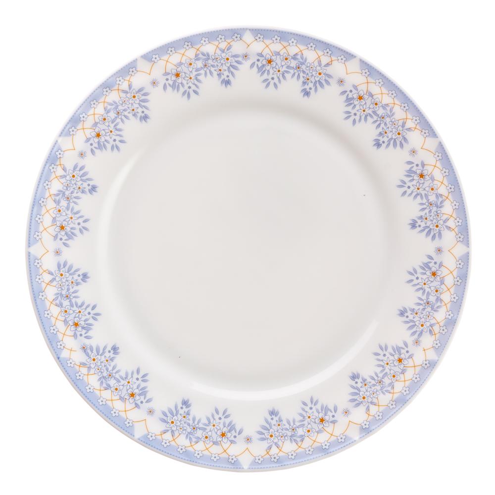 """Тарелка десертная, опаловое стекло, 20 см, MILLIMI """"Аполлон"""""""