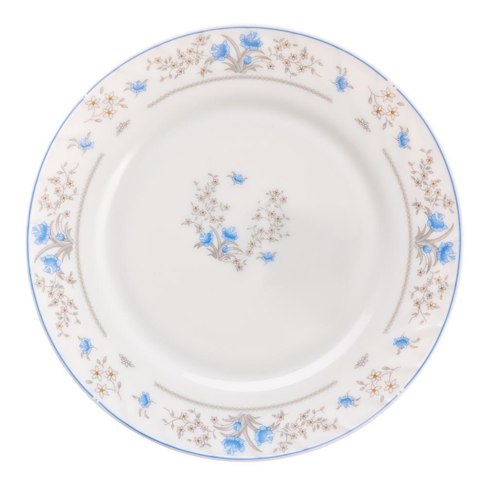 "Тарелка десертная опаловое стекло 20 см, MILLIMI ""Симона"""