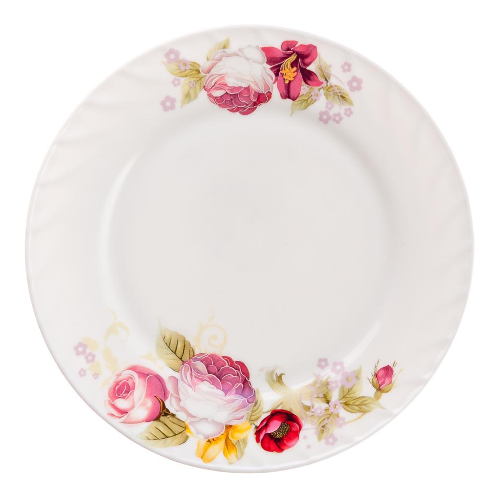 "Тарелка десертная, опаловое стекло, 20 см, MILLIMI ""Нефела"""