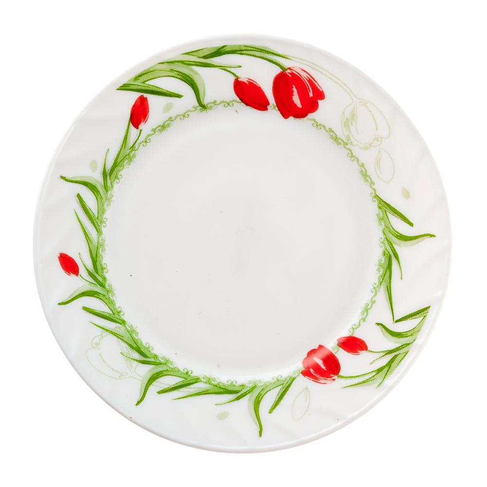 MILLIMI Дафна Тарелка десертная опаловое стекло 20см, HP80/6-1042