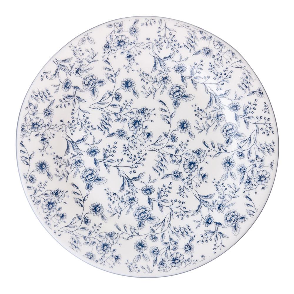 "Тарелка десертная, опаловое стекло, 20 см, MILLIMI ""Венера"""