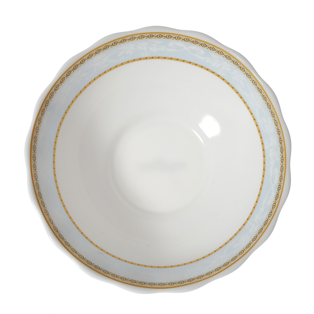 MILLIMI Кристина Салатник, опаловое стекло, 151мм, 412мл, HW60T-16142C