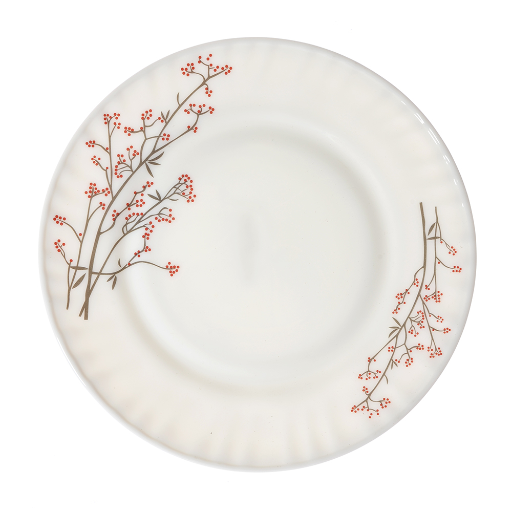 "Тарелка десертная, опаловое стекло, 20 см, MILLIMI ""Марисса"""