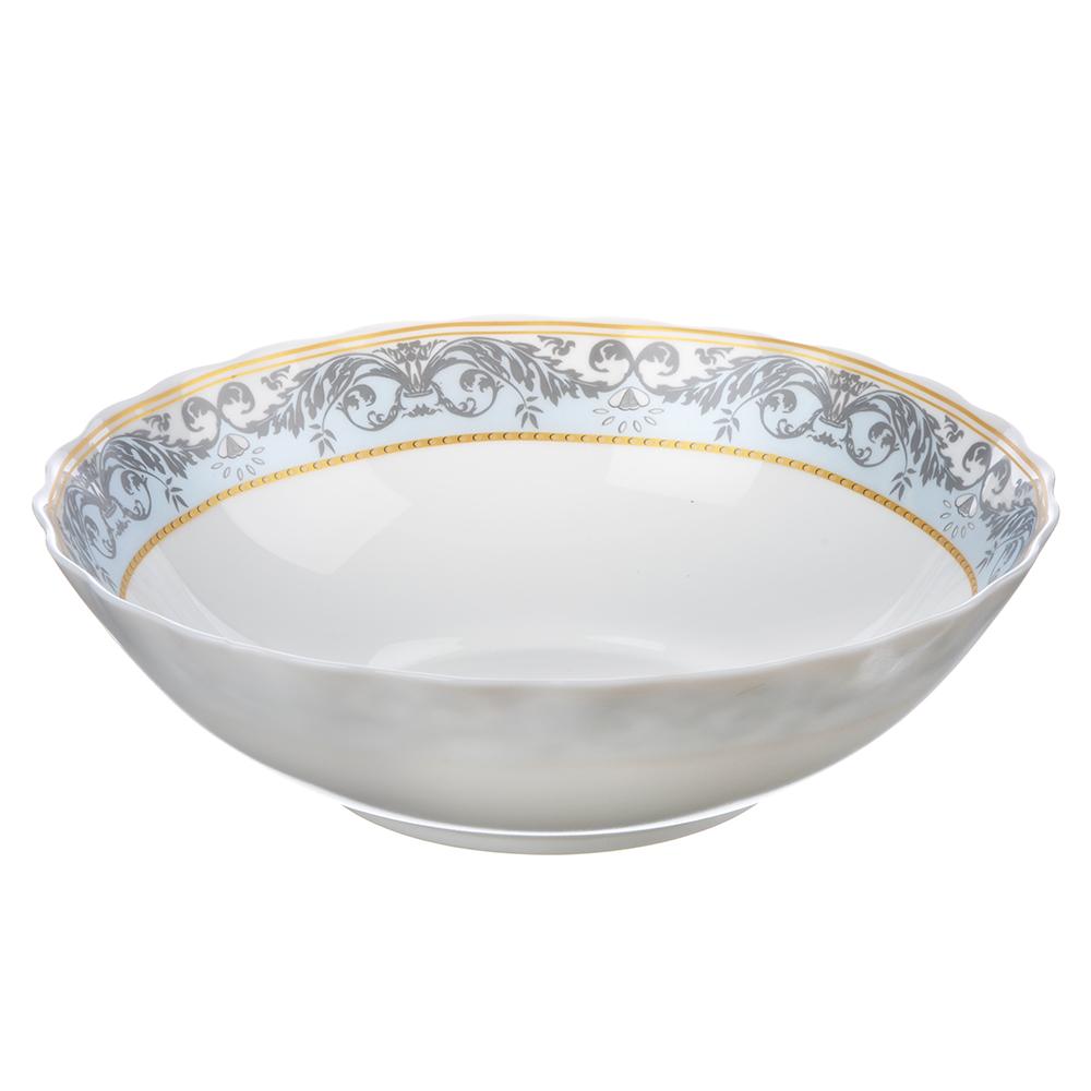 MILLIMI Аделина Салатник, опаловое стекло, 227мм, 1470мл, HW90T-16142A